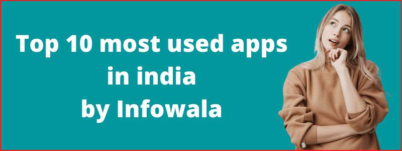 Most used apps in india